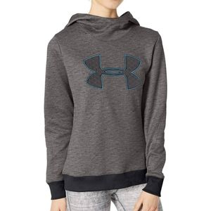 UNDER ARMOUR Synthetic Fleece Pullover Black Stati